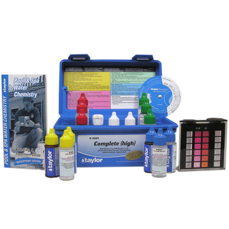 Taylor Technologies Pool Amp Spa Water Complete Test Kit K