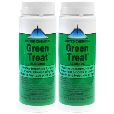 United Cemical Algaecide Green Treat GT-C12 - 2 Pack