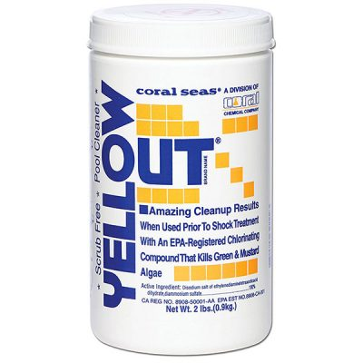Yellow Out 2 lb. Algea Remover Algaecide Coral Seas CS1003 07612